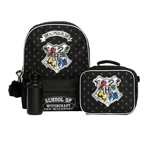 Boys and Girls 4PC Harry Potter Licensed Backpack and Lunch Set