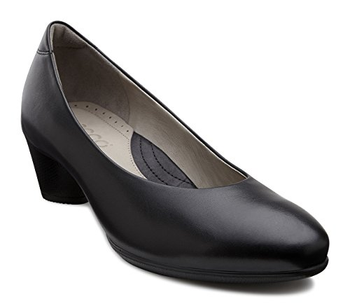 Ecco Damen SCULPTURED45 Pumps, Schwarz (Black 100), 40 EU