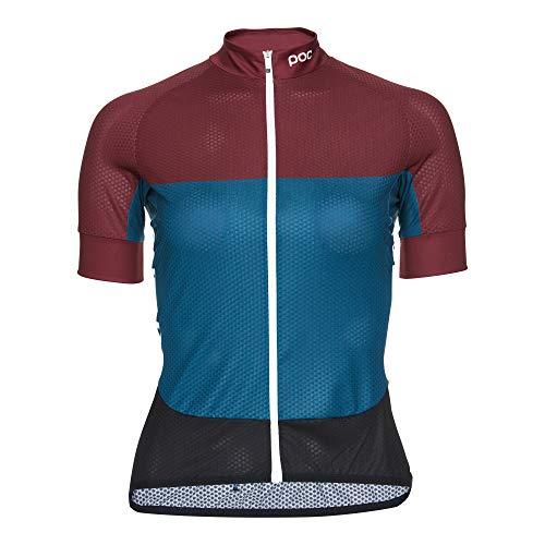 POC Damen Essential Road W's Light Jersey, Polypropylene Red/Draconis Blue, M