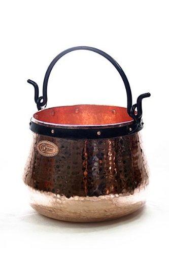 CopperGarden® Kupferkessel ❀ 40 Liter ❀ Hexenkessel ❀ mit viel Liebe für Sie geschmiedet