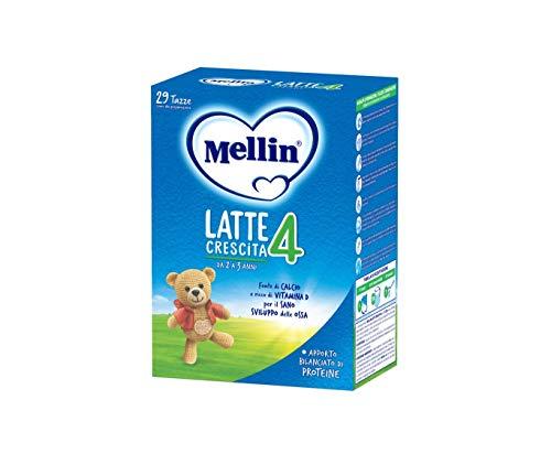 Mellin 4 Latte in Polvere di Crescita - 4 Confezioni di 800gr [Totale = 3200gr]