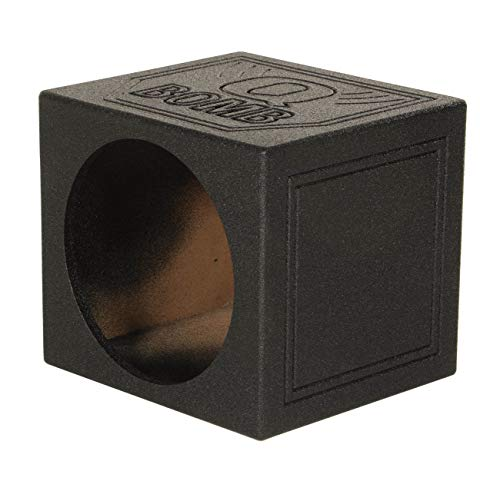 "QPower QBomb 12"" Sealed Car Subwoofer Sub Box Enclosure 