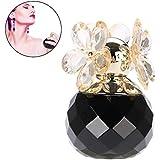Women Perfume, Long Lasting Flower Wood Fragrance Lady Perfume 60 ML (Black)