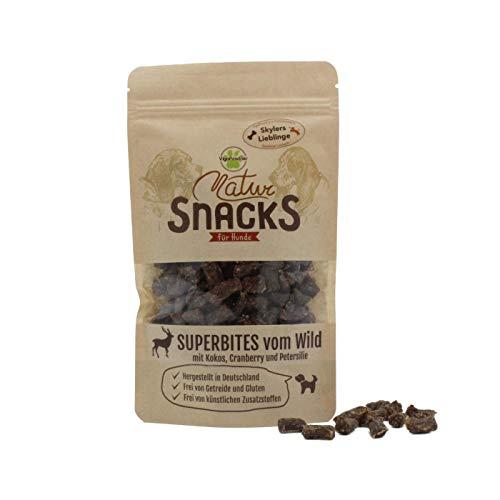 VigoPawtner kleine und softe Hundeleckerli | Mini Trainingssnacks für kleine Hunde | Getreidefrei und natürlich (Wild)