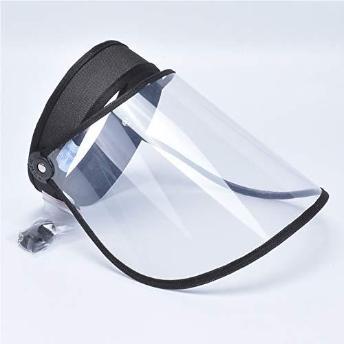 Safety Gesichtsschutzschirm, Schutzschild für das gesamte Gesicht, Anti-Beschlag, verstellbar, staubdichtes Visier für vollen Gesichtsschutz Vollgesichtsisolationsschutz Anti-Speichel-Schutzhut