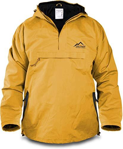 normani Winddichte Funktions-Jacke für Damen und Herren von S-4XL Farbe Gelb/Schwarz Größe S