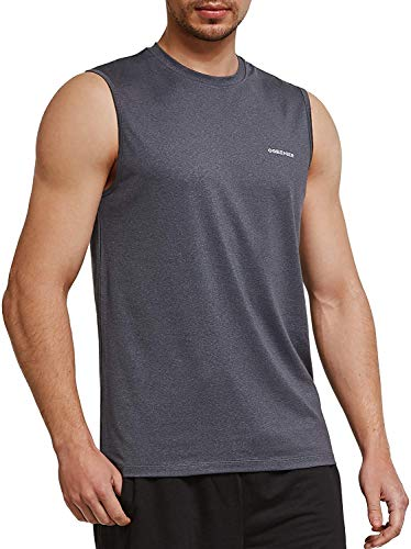 Ogeenier Herren Sommer Sport Tank Top Muskelshirt Trainingsshirt für Training Gym Fitness & Bodybuilding