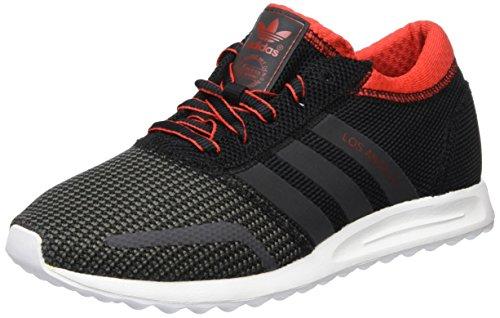 Adidas Los Angeles Sneakers, Schwarz(Schwarz (Core Black/Dgh Solid Grey/Red)), 39 1/3 EU