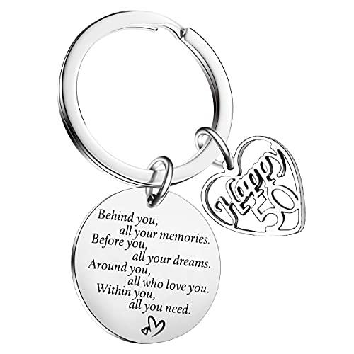 Birthday Keychain For Friendship Jewellery Gift BestFriendGifts Inspirational Keyring For Him Or...