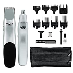 cheap Wahl Groomsman Battery-powered beard, mustache, hair and nose trimmer for more details and hair care …