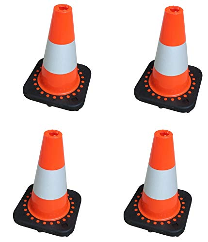 SNS SAFETY LTD TC-30Fx4 Set de 4 Flexibles Traffic Cônes 30 cm
