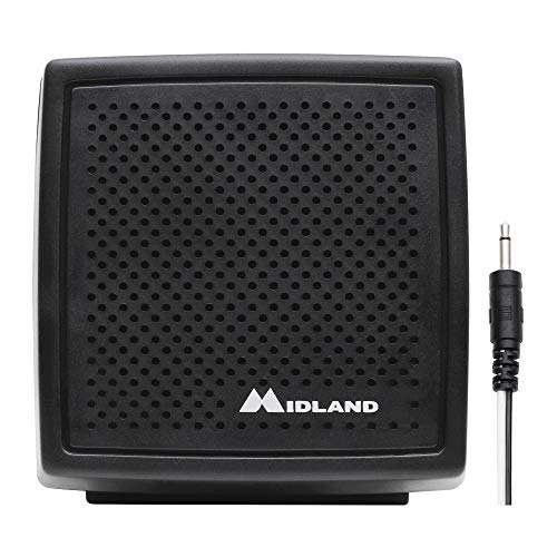 Midland 21-406 Deluxe Micromobile Extension Speaker for CB, Amateur, and Marine Two-Way Radios