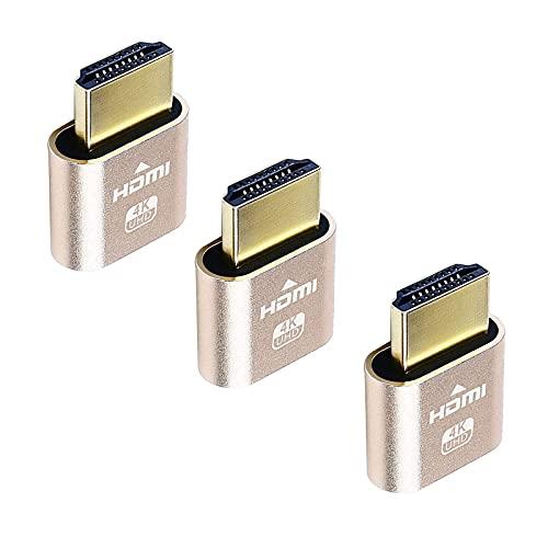 DIFCUL HDMI Dummy Plug 4K Display...