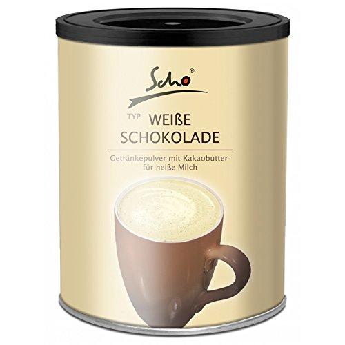 Scho Weiße Trinkschokolade Dose 500 g