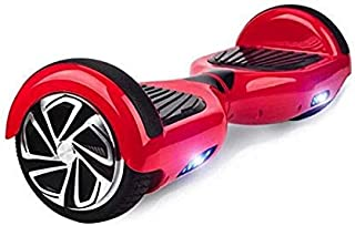 Hoverboard Safe Smart RED INTELIGO Scooter Two Wheel Self Balancing Mover Slide Electric Scooter Rider Ride Hover Board Skateboard Skater Fly Glider Roller UL2272 Certified