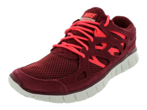 Nike Mens Free Run 2 Team Red/Atomic Red-Mortar 537732-606 8