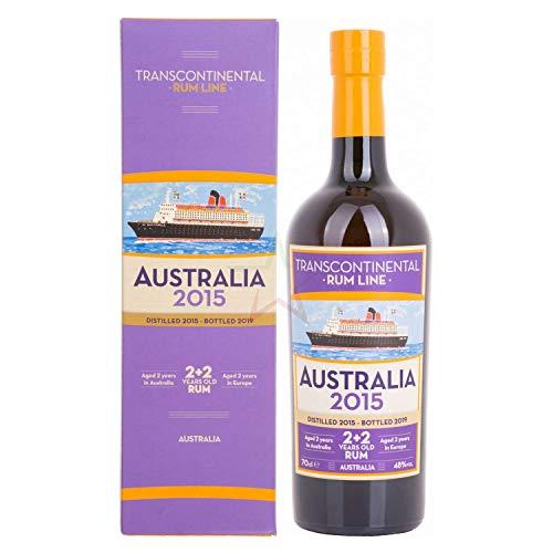 Transcontinental Rum Line Transcontinental Rum Line Australia 2015 48% Vol. 0,7L In Giftbox - 700 ml