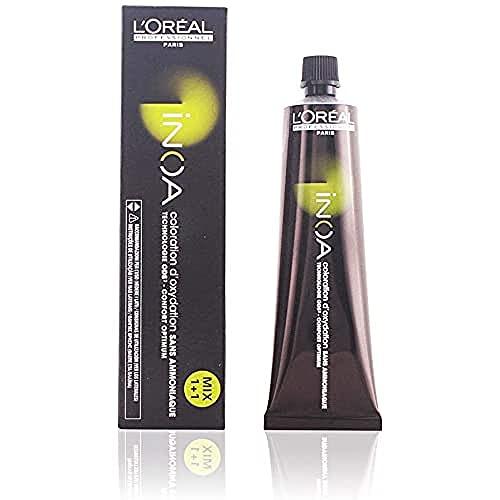 L'Oréal Inoa - Oxidative Coloration Ohne Ammoniak 8,1 Hellblond Asch, 1er Pack (1 x 60 ml)