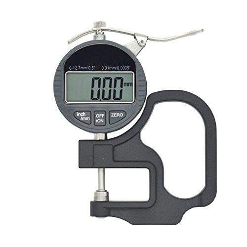 Enhong 解像度 0.01mm 0.001mm シックネスゲージ ( 厚さ 測定器 ) (精度0.01mm・範囲0-10mm)