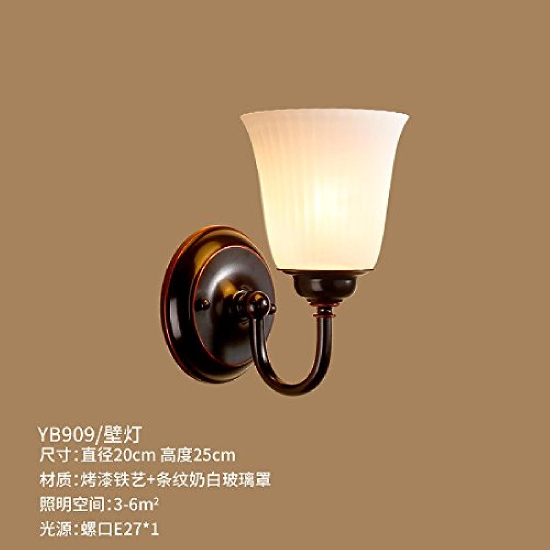 StiefelU LED Wandleuchte nach oben und unten Wandleuchten Eisen Bett wand Lampen Spiegel vorderen Leuchten Schlafzimmer Arbeitszimmer wand Wandleuchten 1 Wandleuchten, single aus Glas