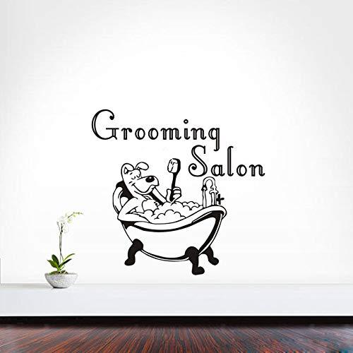 56 * 62cm vinyle création de conception nouvelle auto - adhésifs décalques autocollants mur mur amovible toilettage vignette salon magasin de décoration