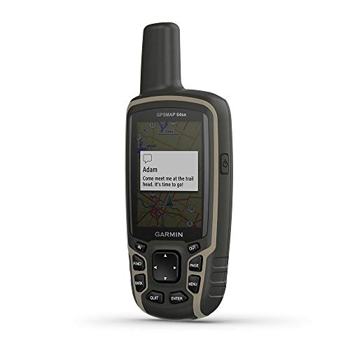 GARMIN GPSMAP 64sx-GPS de randonnée Portable avec capteurs de...