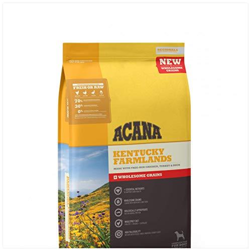 ACANA Kentucky Farmlands Wholesome Grains Dry Dog Food Formula 22.5 Pound Bag (New)