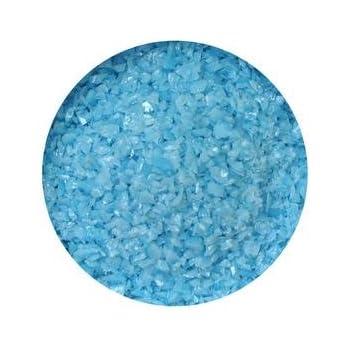 Deep Cobalt Blue Opal 90 COE 1 Lb Bullseye Medium Frit