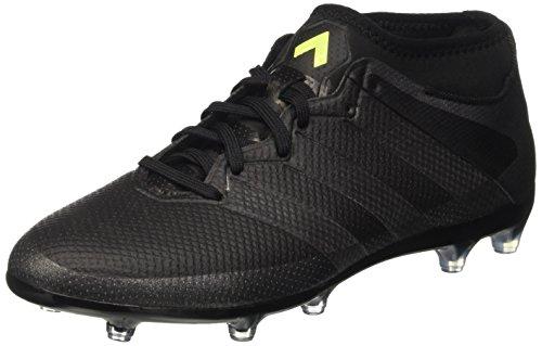 adidas Herren Ace 16.2 Primemesh FG/AG Fußballschuhe, Schwarz (Mesh Cblack/Cblack/Syello), 42 2/3 EU