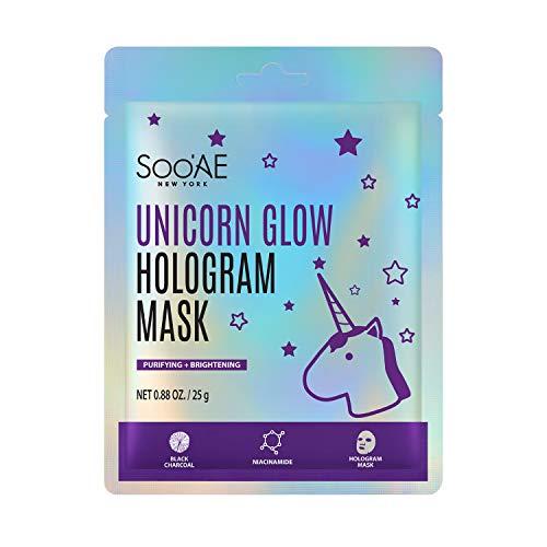 Soo'AE Unicorn Glow Hologram Mask