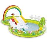 Piscina Inflable para niños Jardín para niños Piscina arcoíris Piscina Flotante para bebés Piscina Inflable para niños Centro de Juegos Piscina para niños