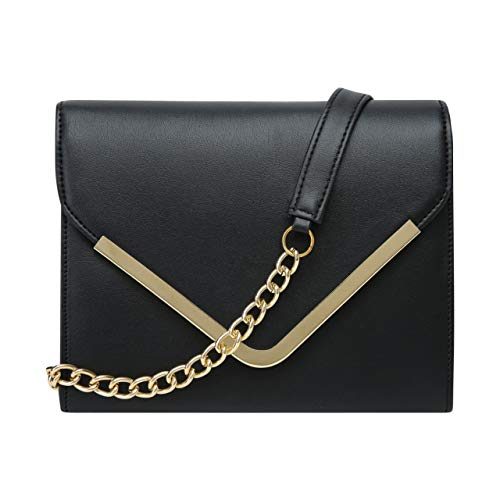 ADISA Women's & Girls' Sling Bag (SL5003-BLA_Black)