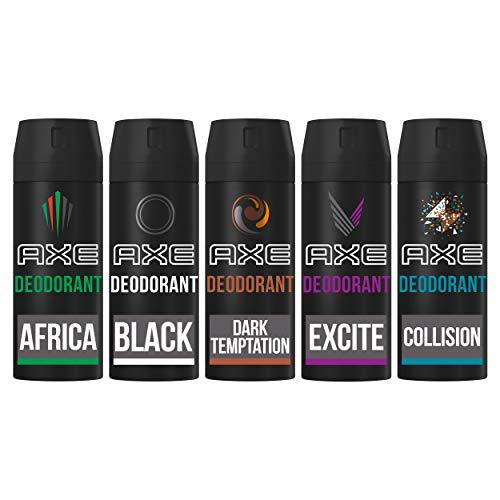 AXE Deodorant Bodyspray Geschenkset 5 x 150 ml Cadeaupakket