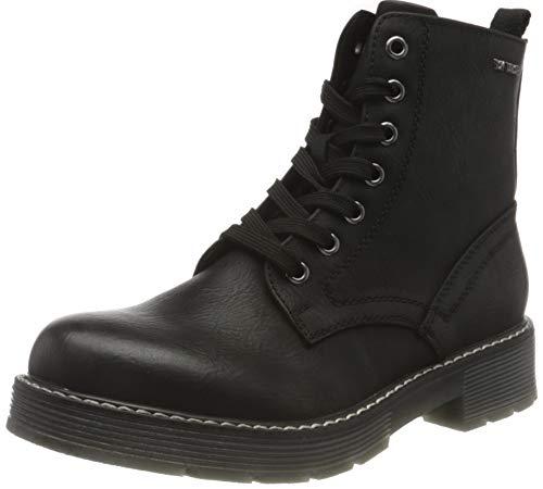 TOM TAILOR Damen 9093508 Halblange Stiefel, black, 37 EU