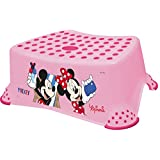 Disney Minnie Step Stool for 1 Year and Above (Pink)