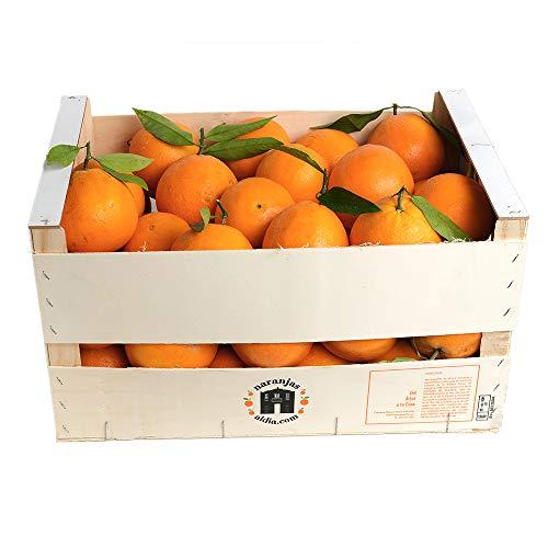 Caja de 15 kg de Naranjas para zumo naturales y frescas recolectadas el mismo día que se envían.