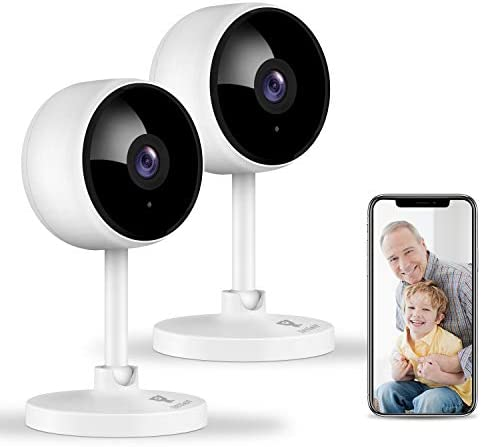 Home Security Camera Littlelf 1080P Indoor WiFi Surveillance IP Camera with Manual Night Vision product image