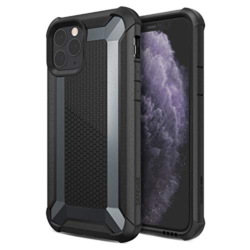 Defense Tactical, iPhone 11 Pro Case - Heavy Duty Protection with Drop Shield, Military Grade Drop Tested Case for Apple iPhone 11 Pro, (Black)