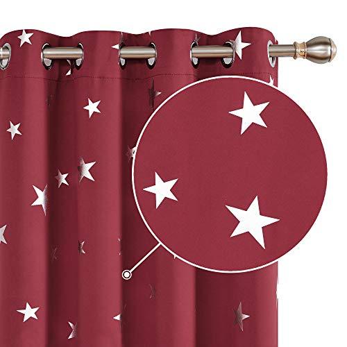 cortinas habitacion matrimonio color mostaza