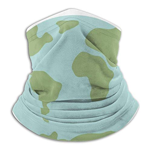 C-WANG Save The Earth Summer Face Cover Neck Gaiter Face Bandanastube Headwear Bandana for Dust Wind Sun Protection