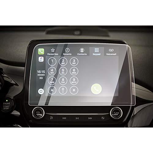 CDEFG für Ford Fiesta ST Focus Navigation Glas Schutzfolie 9H Kratzfest Anti-Fingerprint Auto GPS 8 Zoll Transparent Displayschutzfolie