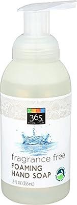 365 Everyday Value, Foaming Hand Soap Fragrance Free, 12 Fl Oz