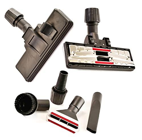 Boquilla para aspiradora, boquilla de conmutación para alfombras y suelos lisos con juego de 4 boquillas adecuado para AEG LX4-1-SM-P, WR,EB X Efficiency