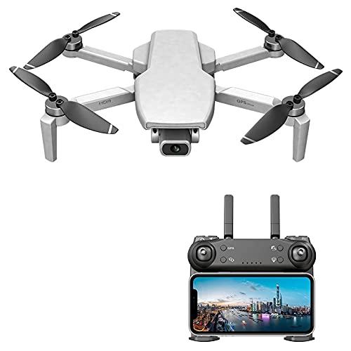 Mini Drone Pieghevole L108 con videocamera WiFi 4K 5G, Drone Portatile in Tempo Reale con Mantenimento dell'altitudine, Registrazione dei gesti |Ritorni GPS, Giocattolo per Bambini con quadricottero