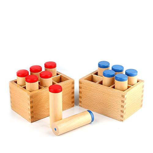 Yanhan Education Sound Cylinder Set Montessori Sensorial Material Sound Box