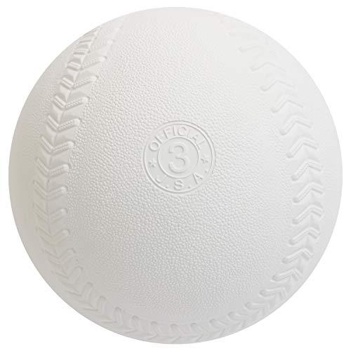 [AmazonFBA]検定落ちソフトボール3号球(3球)