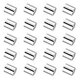 SAVITA 2000 Pezzi Perline a Crimpare a Tubo in Argento Perline Distanziatrici per Gioielli Collane Bracciali Orecchini Fai Da Te (2mm)
