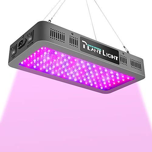 KEEGROW 1200 Watt Blurple Plant Light with Veg/Bloom Double Switch, Daisy Chain...