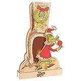 Department 56 Flourish Dr. Seuss The Grinch Steals Christmas Lit Figurine, 15 Inch, Multicolor