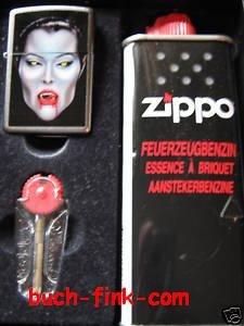 Briquet zippo bS dracula 1 boîte-cadeau